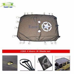 Newest High Quality Jeep Wrangler Jk 4 Door Sun Shade Cover pictures & photos