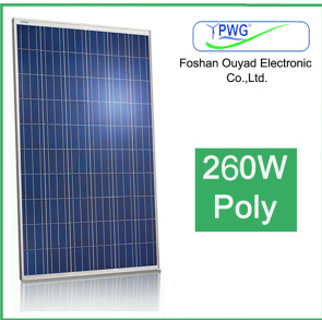 High Efficiency Poly Solar Panel 260W pictures & photos