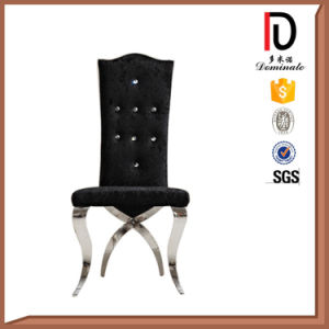 Luxury Gold Silver Hotel Restaurant Dining O Back Stainless Steel Chair (BR-F481) pictures & photos
