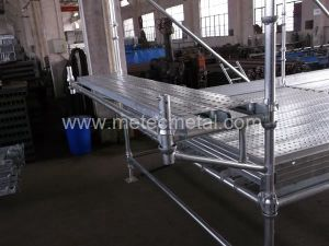 Galvanized Steel Cuplock Scaffold for Building Construction pictures & photos