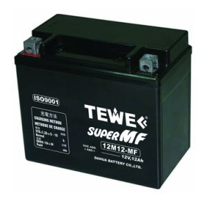 12V 12ah Sealed Maintenance Free Motorcycle Battery pictures & photos