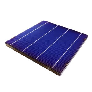 High Efficiency Grade a 4.6W 156mm Photovoltaic Polycrystalline Solar Cells pictures & photos