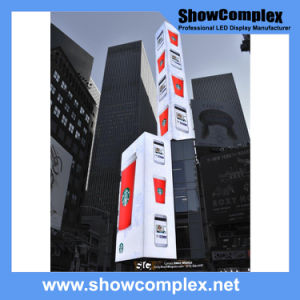 Outdoor Full Color LED Digital Display for Advertisement (pH10 960mm*960mm) pictures & photos