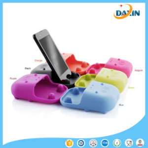 Colorful Lovely Hippo Shape Silicone Loudspeaker pictures & photos