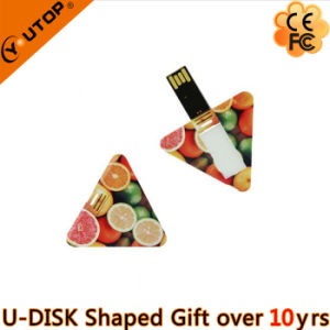 Business Gift Triangle Card USB Stick (YT-3119) pictures & photos