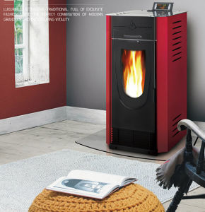 Modern Biomass Wood Pellet Fireplace (CR-04) pictures & photos