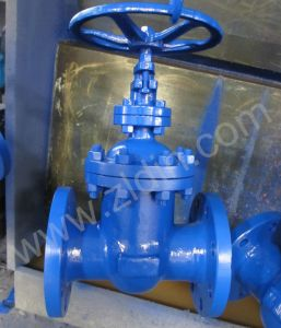 DIN Cast Steel F4 Non-Rising Gate Valve From Wenzhou Manufacturer pictures & photos
