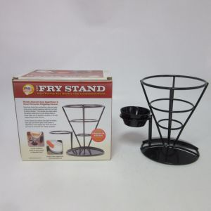Iron Painting Fry Stand Holder pictures & photos