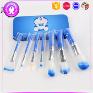 High Quality 7PCS Makeup Brush Set OEM Accept, Iron Box pictures & photos