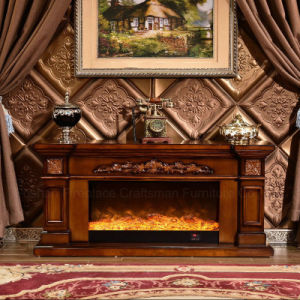 TV Stand European Heater Electric Fireplace with Ce Certificate (334S) pictures & photos