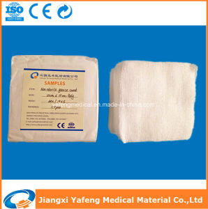 Hot Sale Sterile and Non-Sterile Medical Wound 4inch Gauze pictures & photos
