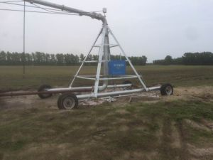 Towable Center Pivot Irrgaiton System for Watersaving pictures & photos