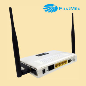 FTTH Router Adapter ONU with IPTV VoIP CATV WiFi pictures & photos