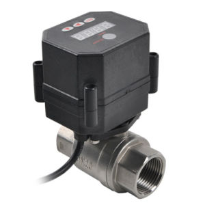 2 Way Motorized Control Drain Water Valve pictures & photos