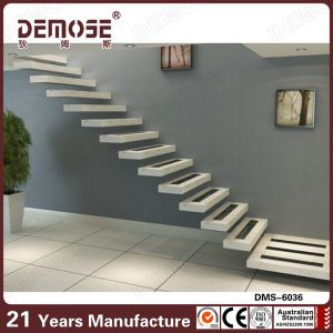 Wooden Staircase /Wood Folding Stairs / Build Floating Staircase (DMS 6036)