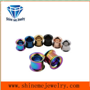 Stainless Steel Body Jewelry Flesh Tunnel Ear Plug pictures & photos