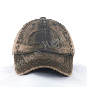 Heavy Snow Washed Custom Baseball Cap pictures & photos