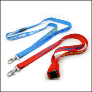 Silkscreen Printing Custom Lanyards with Small MOQ pictures & photos