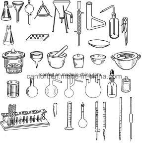 Laboratory Glassware Distilling Flask, Boro 3.3 pictures & photos