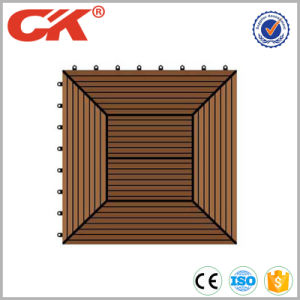 Outdoor Easy Installation WPC DIY Outdoor Decking Tile pictures & photos