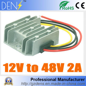 12V to 48V 2A 100W DC to DC Boost Step up Car Power Converter pictures & photos