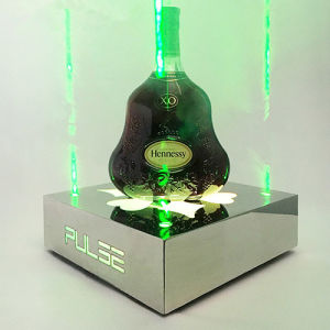 Champagne Wine Bottle LED Illuminated Display Stand pictures & photos