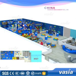 Wenzhou Children Plastic Games Sea Theme Pirate Ship Indoor Playground Equipemnt Price pictures & photos