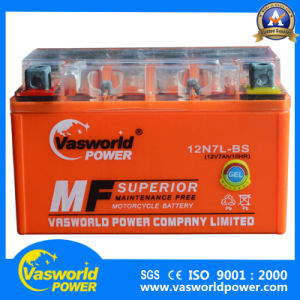 The Cheapest Price Motorcycle Battery 12V 7ah From Chinese Manufacturer pictures & photos