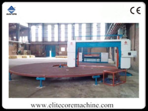 Automatic Carrousel Circular Cutting Machine for Sponge Polyurethane Foam