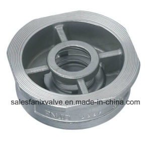 Wafer Type Spring Check Valve H71 pictures & photos