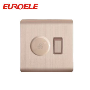 Aluminm 1 Gang Switch and Fan Speed Switch /Dimmer Switch pictures & photos