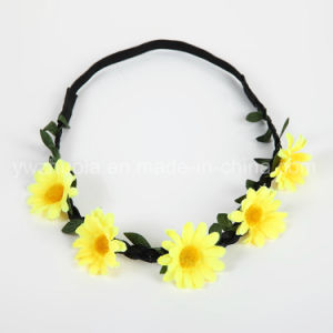 Artificial Flower Headband for Wedding Decoration