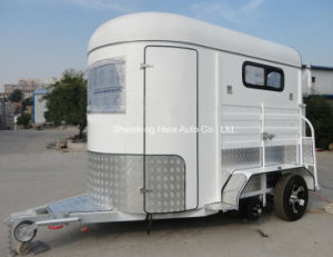 2 Horse Float Straight Load Economy Trailer Accord with Australian Standard pictures & photos