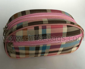 Leather Cosmetic Bag for Women