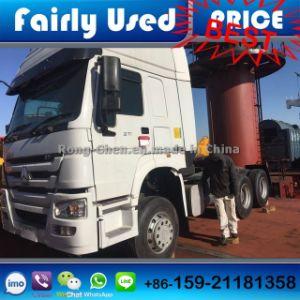 Loading Sinotruck HOWO Truck Tractor to Dar Es Salaam