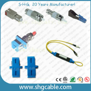 RoHS Compliant Sc LC St FC Fiber Optic Attenuator (SC) pictures & photos