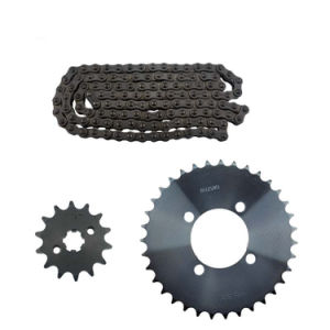 Chain and Sprocket Kit for Smash 110 pictures & photos