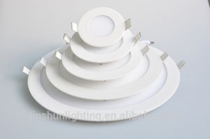 Factory Wholesale LED Panel Light 6W12W16W24W Round Ce RoHS Glass pictures & photos
