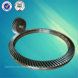 Oil Drilling Rig Rotary Tables Spiral Bevel Gear pictures & photos