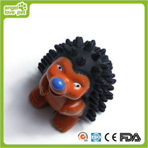 Animal Design Hedgehog Vinyl Dog Pet Toy pictures & photos