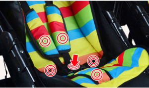 Double Seat Kid Stroller/Pram/Baby Pram pictures & photos