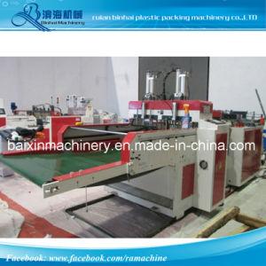 High Speed Heat Cut T Shirt Bag Garbage Bag Making Machine 460 PCS. Min pictures & photos