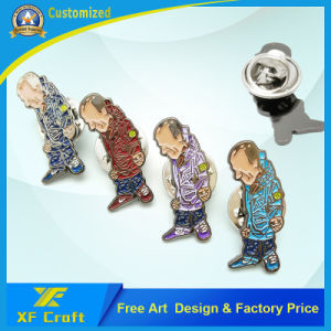 Professional Customized Popular Iron Stamping Soft Enemal Metal Pins with Any Design pictures & photos