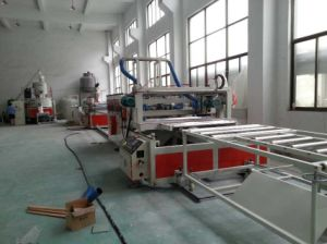 PVC WPC Crust Skinning Foam Board Production Line pictures & photos