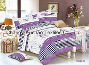 China Suppliers Poly/Cotton Material Printed Bedding Set Manufacture Bed Sheet pictures & photos
