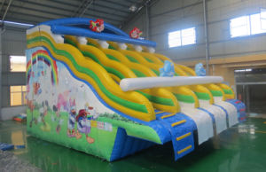 New Style Cartoon Giant Inflatable Water Slide (HL-008) pictures & photos