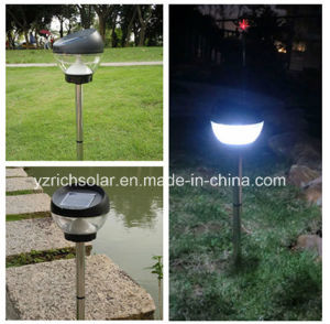Crystal Glass Solar Stake LED Pathway Garden Light pictures & photos