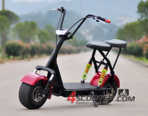 2016 New Products Big Two Wheels Citycoco 500W 48V Electric Scooter, Electric Motorcycle pictures & photos