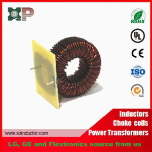 Sendust Core Power Inductor/ High Current Through Hole Choke Coil pictures & photos