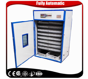 Holding 1232 Capacity Industrial Turkey Egg Incubator for Poultry Equipment pictures & photos